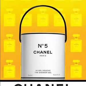 Chanel factory 5 limited edition poster.